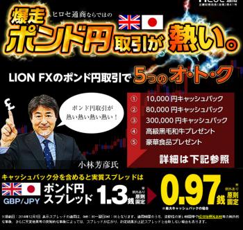 ポンド円キャンペーン2