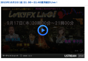 JFX雇用統計LIVE